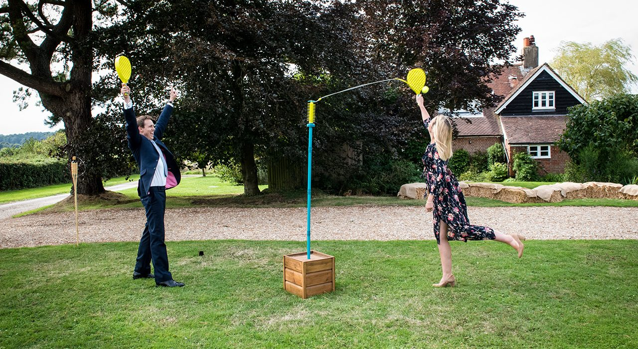Rustic Swingball for Hire