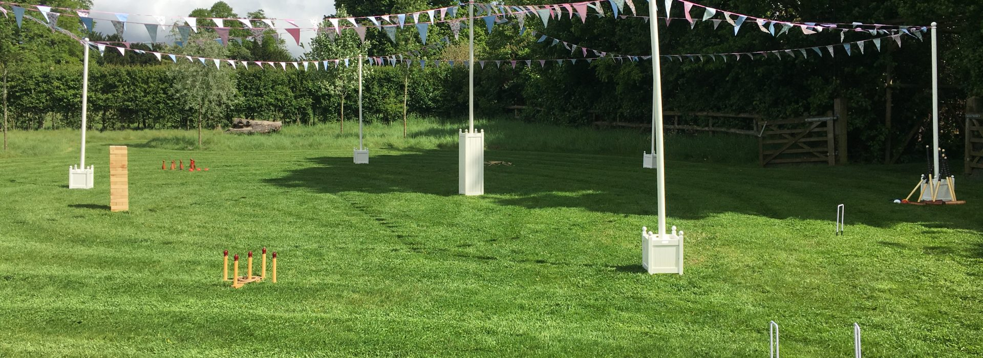 Fete Poles and Bunting for hire